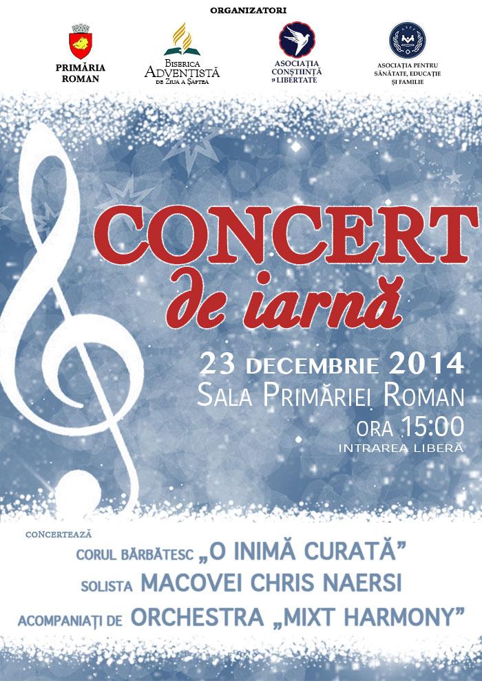 Concert-Iarnă-Roman